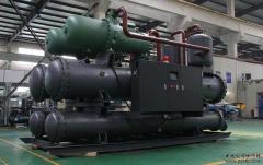中央空调冷水机的工作原理
